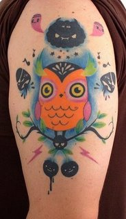 Owl+tattoo