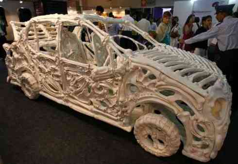 Bone Car the the India Art Summit 2008