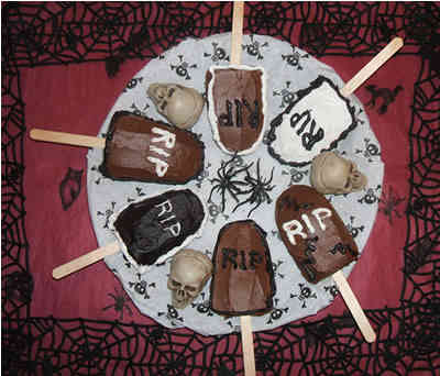 Tombstone Cake On A Stick