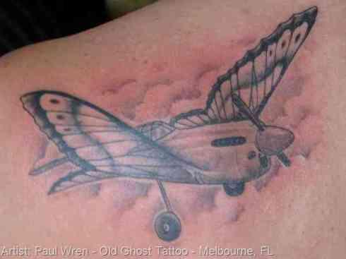 Butterfly Wings Tattoo