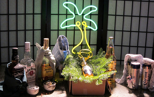 Drunk Nativity Set