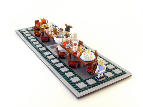 Lego in Wonderland | Cakehead Loves Evil