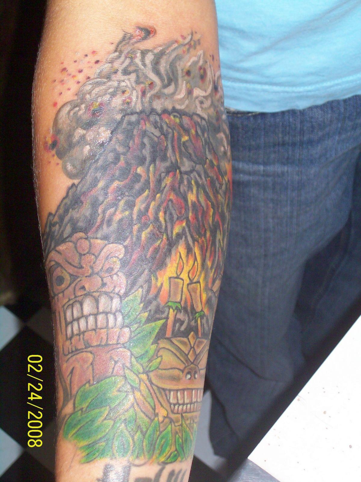 Volcano Tattoos