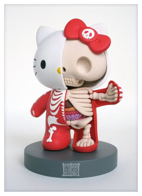 hello-kitty-anatomy-sculpture-2