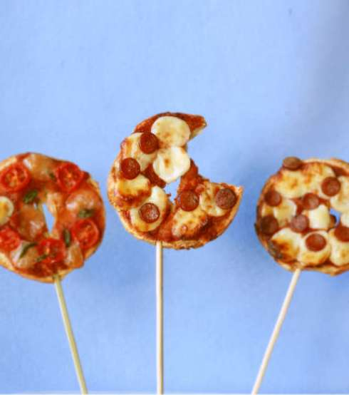 Pizza-on-a-Stick