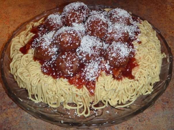 Pasta Cake Recipe — Dishmaps