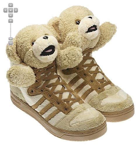 teddy bear trainers