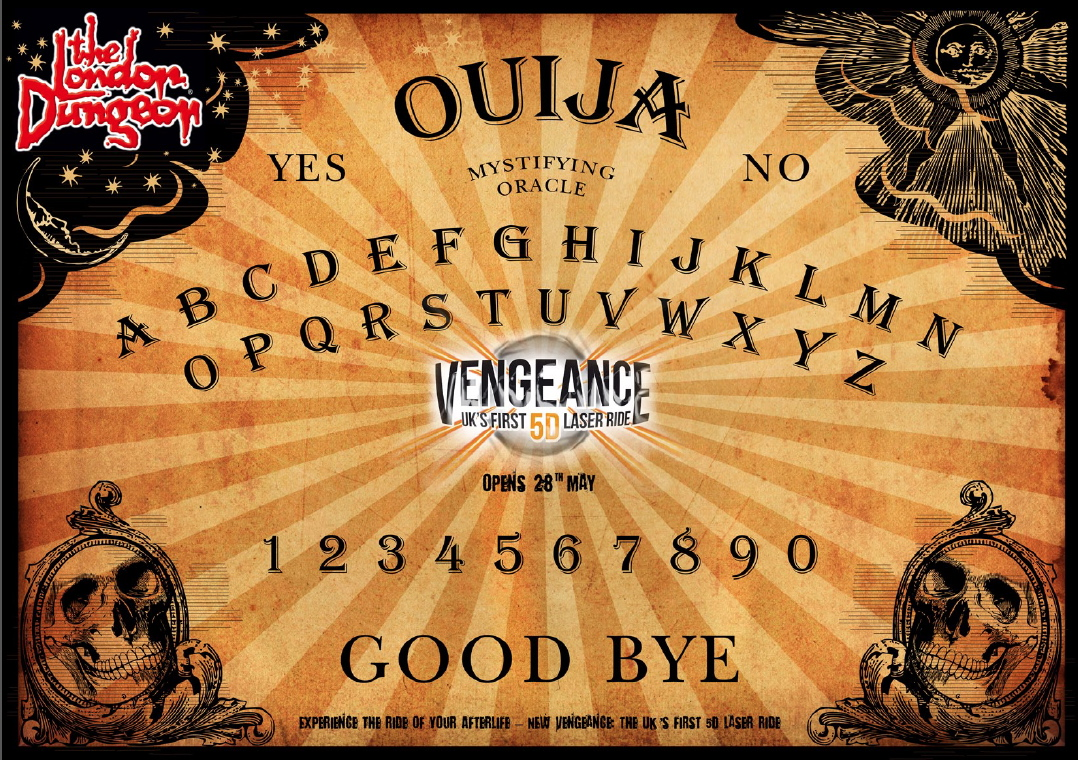 image regarding Printable Ouija Board titled Ouiji Board Print Out Identical Keywords and phrases - Ouiji Board Print