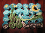 Vincent-Van-Gogh-Starry-Night-Cupcake-Cake