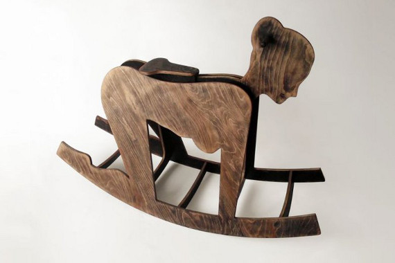Beau ... Vespa Rocking Chair, This Wooden Scooter By Present Time Is Probably  The Next Best Thing. Rocking Chair Meets Rocking Horse In This  Best Of Both Worlds ...