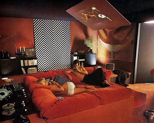 Sunken Living Room 70 S living room | cakehead loves evil