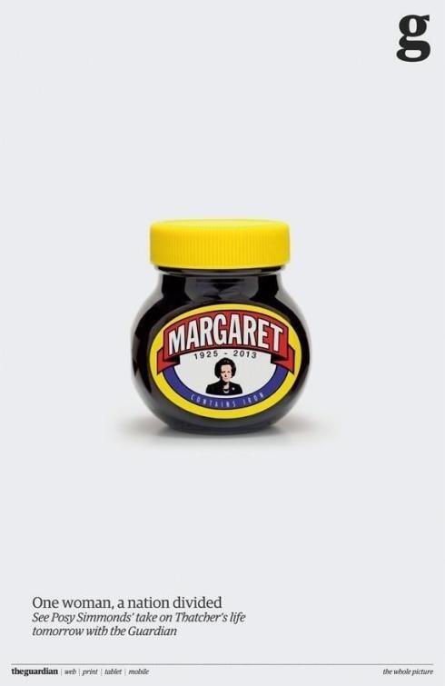 Marmite Margaret Thatcher