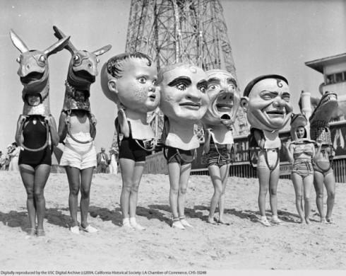 Women on Venice Beach (1930's)